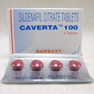 Caverta 100mg (by Ranbaxy)