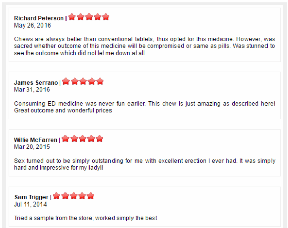 Fildena XXX Reviews
