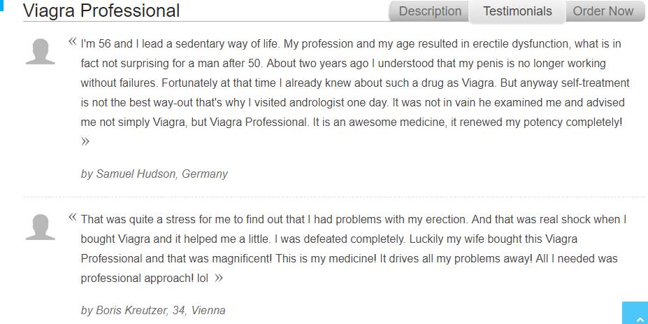 Viagra Professional 150 mg Reviews