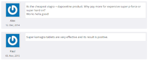 Super Kamagra Customers Report