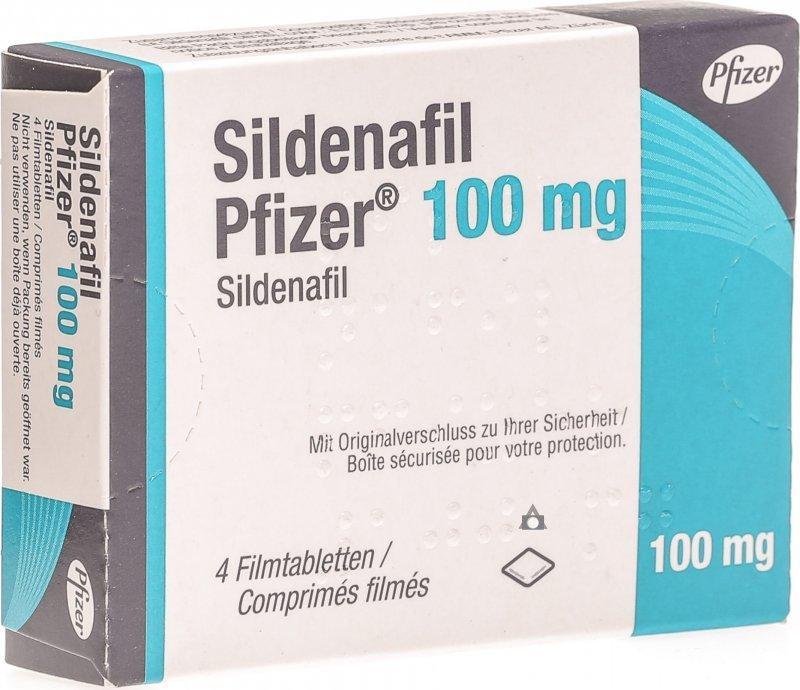 Pfizer Sildenafil Citrate 100mg