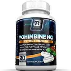 Bottle of Yohimbine HCl