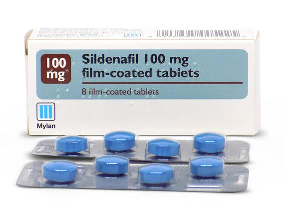 Sildenafil 100mg Blister Pack