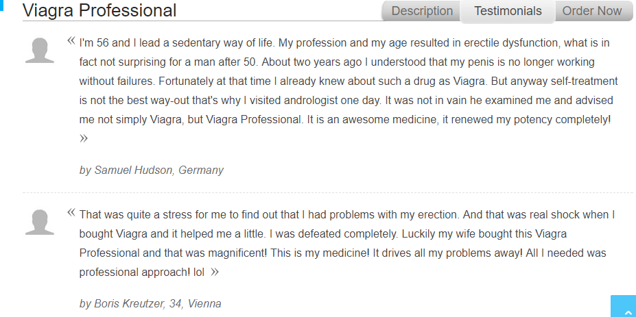 Viagra Professional 150 mg Reviews